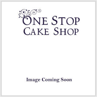 "8"" Square Cake Drum Silver - Pack of 5"