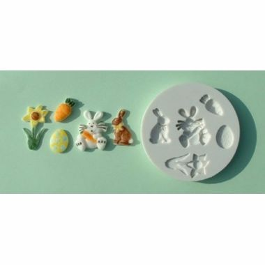 Alphabet Mould AM0001   Easter