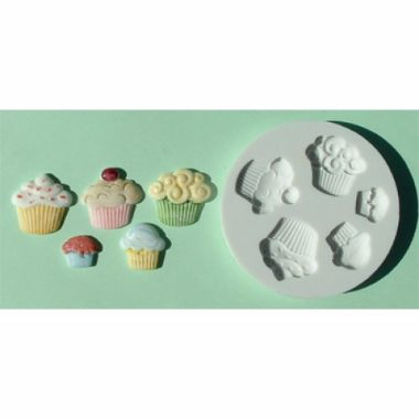 Alphabet Mould AM0022   Cupcakes