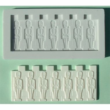 Alphabet Mould AM0028 - Tin Soldiers Border