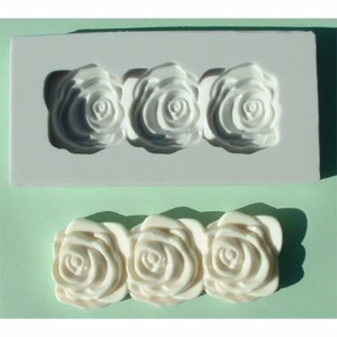 Alphabet Mould AM0029   Rose Border