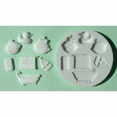 Alphabet Mould AM0033 - Bathtime