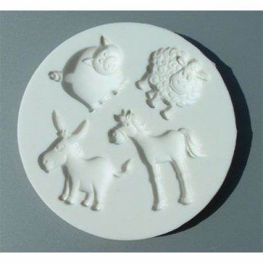 Alphabet Mould AM0036   Farm Animals