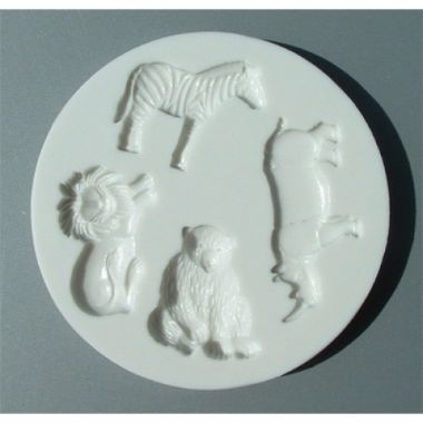 Alphabet Mould AM0039   Wild Animals
