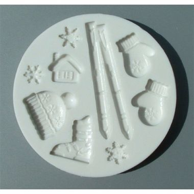 Alphabet Mould AM0042   Ski