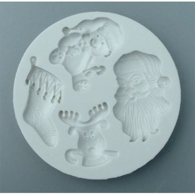 Alphabet Mould AM0043   Christmas