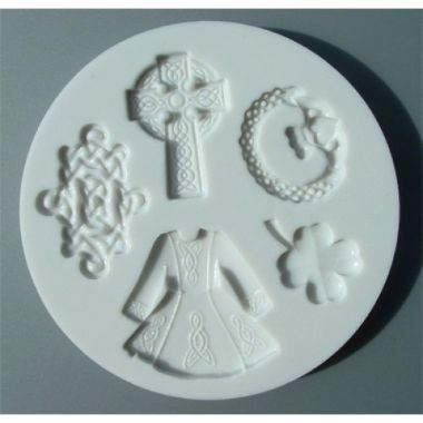 Alphabet Mould AM0050   Luck of the Irish