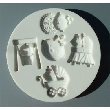 Alphabet Mould AM0056 - Baby Girl