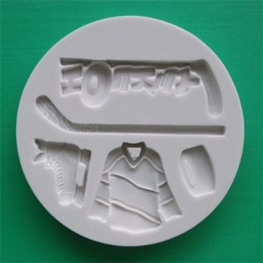 Alphabet Mould AM0064   Ice Hockey