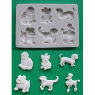 Alphabet Mould AM0065 - Dogs 2