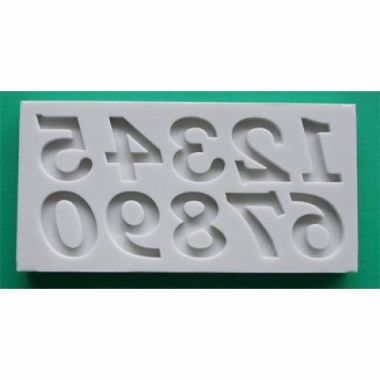Alphabet Mould AM0067   Bookman Old Style Numbers