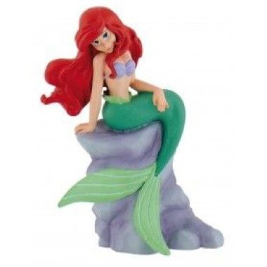 Bullyland - Little Mermaid - Ariel on Rocks