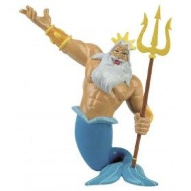 Bullyland - Little Mermaid - King Triton