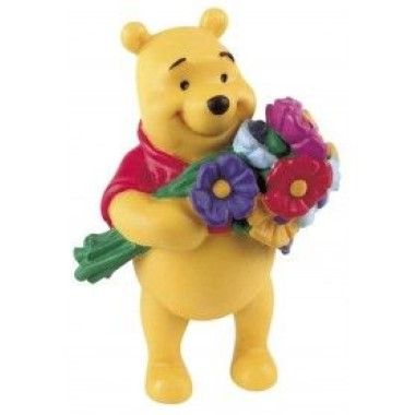 Bullyland - Winnie the Pooh - Pooh and Flowers