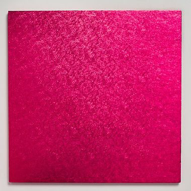 "12"" Square Cake Drum Cerise"