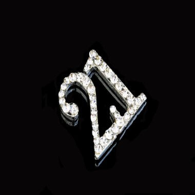 Diamante Design - 2cm Silver 21