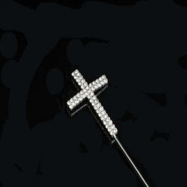 Diamante Design - Large Plain Cross