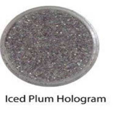 Diamond Paste   Glitter Colour   Iced Plum Hologram