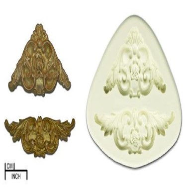 Diamond Paste   Mould   Acanthus Scroll