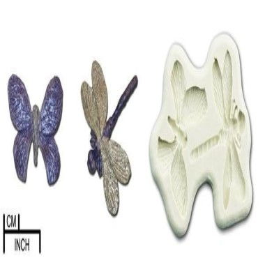 Diamond Paste - Mould - Butterfly and Dragonfly