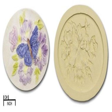 Diamond Paste - Mould - Butterfly Plaque