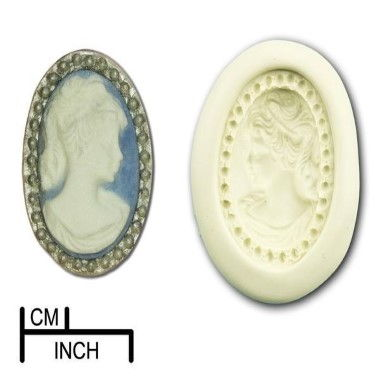 Diamond Paste - Mould - Cameo