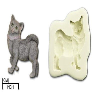 Diamond Paste - Mould - Cat Standing