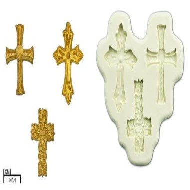 Diamond Paste - Mould - Crosses