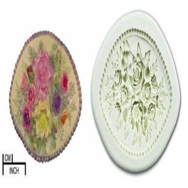 Diamond Paste - Mould - Flower Panel