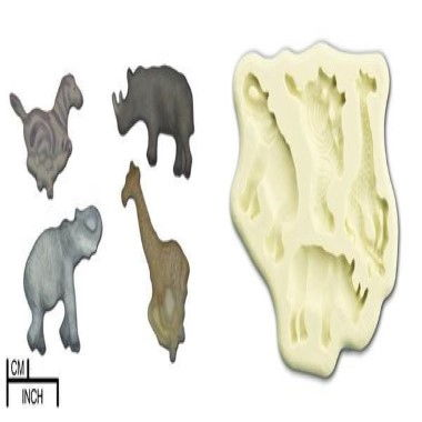 Diamond Paste - Mould - Jungle Animals