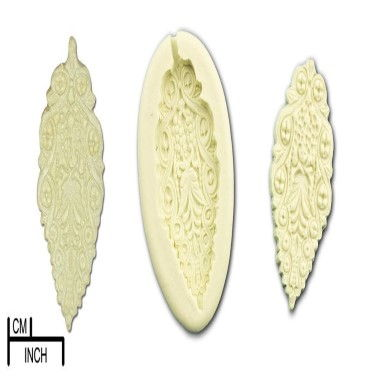 Diamond Paste - Mould - Lacy Leaf Medium