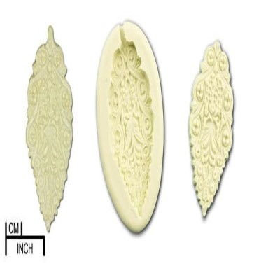 Diamond Paste - Mould - Lacy Leaf Small