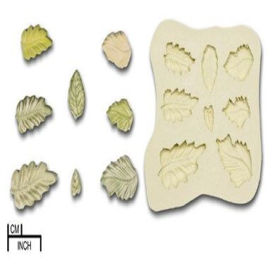 Diamond Paste - Mould -Leaf Selection
