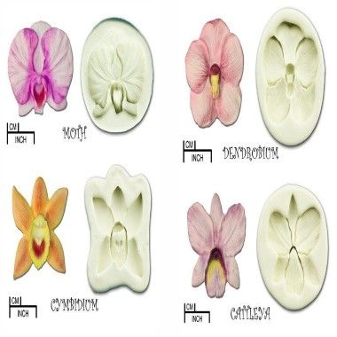 Diamond Paste - Mould - Orchid - Moth