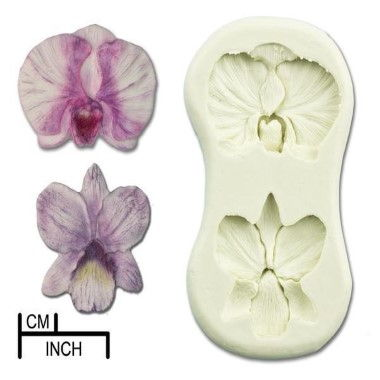 Diamond Paste - Mould - Orchid Cattleya/Moth Small