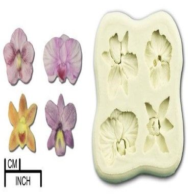 Diamond Paste - Mould - Orchid Mini (all four)