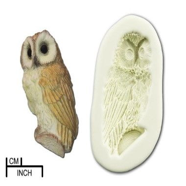 Diamond Paste - Mould - Owl