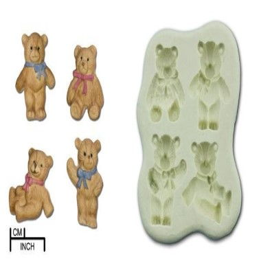 Diamond Paste - Mould - Teddy Bears Picnic