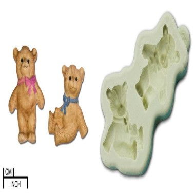 Diamond Paste - Mould - Two Teddies