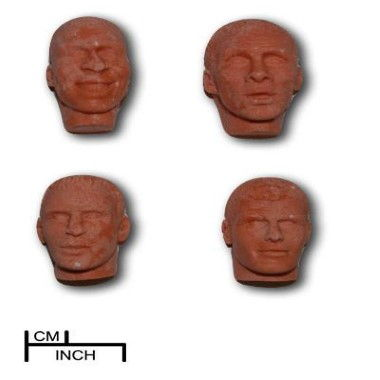 Diamond Paste - Mould - Young Mens Faces
