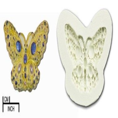 Diamond Paste - Mould - Jewelled Butterfly