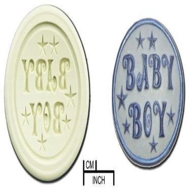 Diamond Paste - Mould - Cupcakes - Baby Boy