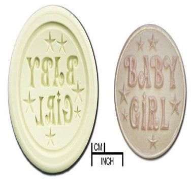 Diamond Paste - Mould - Cupcakes - Baby Girl