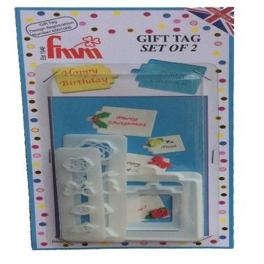 FMM - Gift Tag Cutters