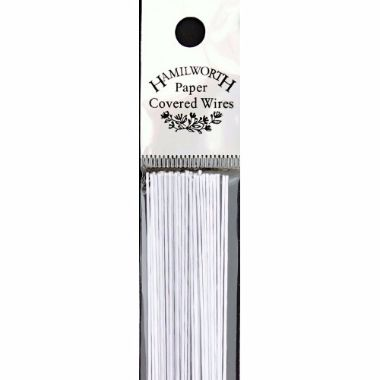 Hamilworth 33 Gauge White Wires