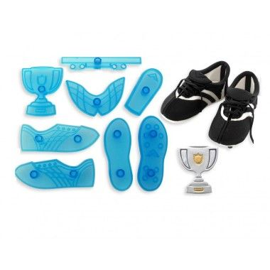 JEM - 3D Soccer Boot and Trophy