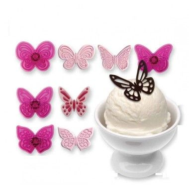 JEM - Lacy Butterflies - Set of 4