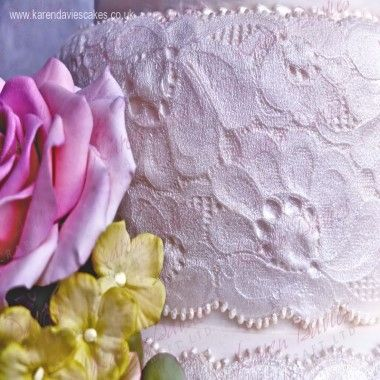 Karen Davies - Moulds - Amy Lace Border