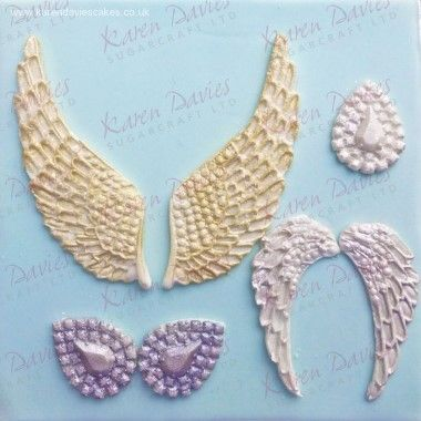 Karen Davies - Moulds - Angel Wings
