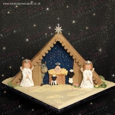Karen Davies - Moulds - Away in a Manger